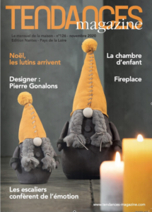 TENDANCES MAGAZINE Magazine Deco Maison Couv Novembre