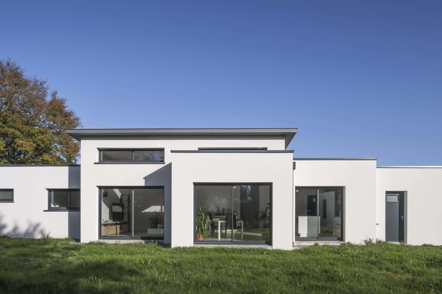 TENDANCES MAGAZINE Magazine Deco Maison Maison Design Grandchamps Des Fontaines 44 Berthelot Constructions