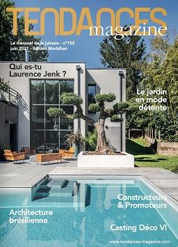 TENDANCES MAGAZINE Magazine Deco Maison Couv Juin