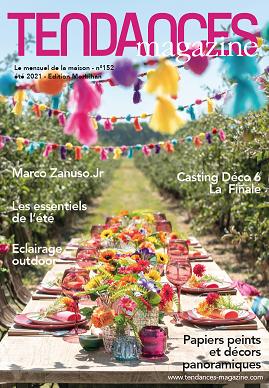 TENDANCES MAGAZINE Magazine Deco Maison Couv Edition Juillet 2021
