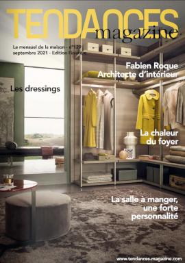 TENDANCES MAGAZINE Magazine Deco Maison Couv Edition Septembre 2021